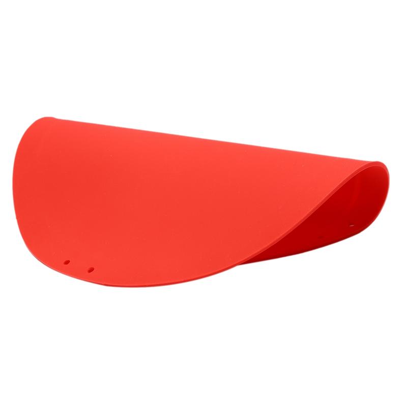 rund Flexible Schneidematten f/ür K/üche gr/ün faltbar multifunktional Genlesh Silikon-Schneidebrett