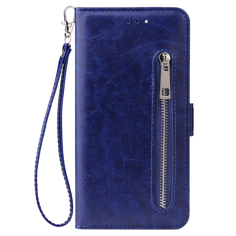Indexbild 5 - Male Phone Wallet für IPhone 11 Stand Zip Cover für Apple 6 6S 7 8 Plus Mul E6N4