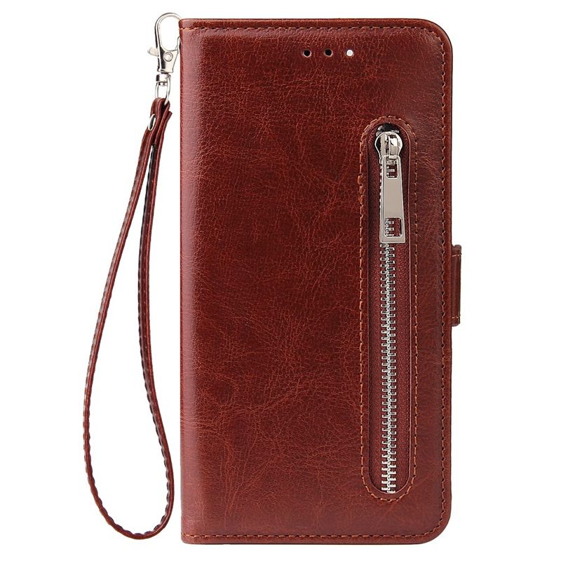 Indexbild 11 - Male Phone Wallet für IPhone 11 Stand Zip Cover für Apple 6 6S 7 8 Plus Mul K6A3