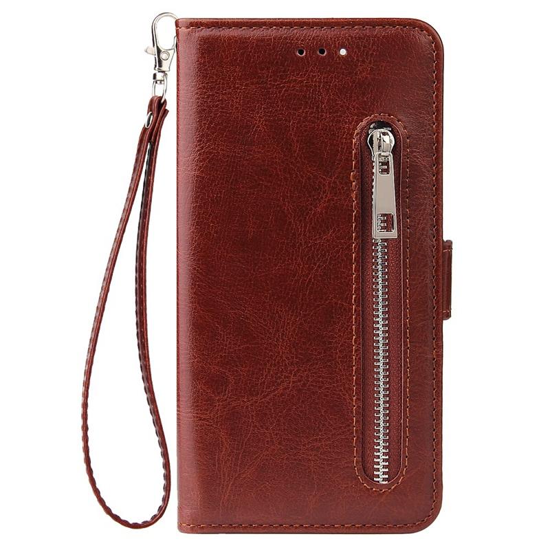 Indexbild 11 - Male Phone Wallet für IPhone 11 Stand Zip Cover für Apple 6 6S 7 8 Plus Mul E6N4