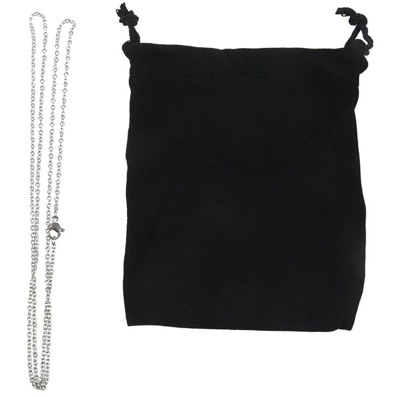 """Indexbild 13 - Schmuck Damen Kette,Edelstahl """"O"""" Halskette,Silber-Breite 2mm-Laenge 50cm W9X7"""
