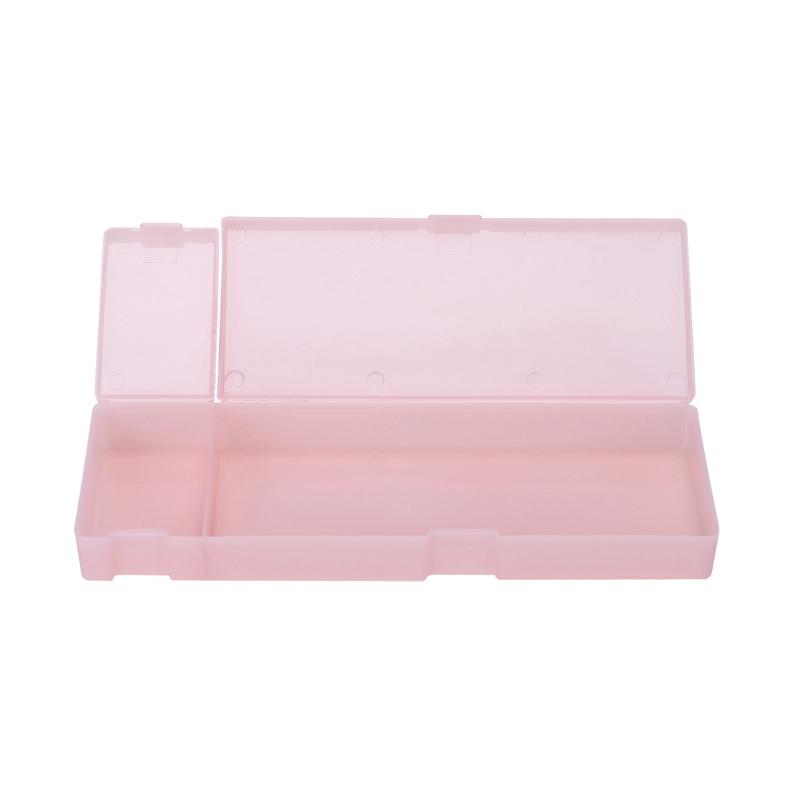 Cute-Kawaii-Transparent-PP-Plastic-Pencil-Case-Lovely-Pen-Box-For-Kids-Gift-O1F9 thumbnail 13
