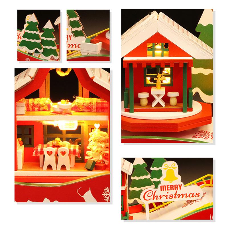 DIY-Puppen-Haus-HoeLzerne-Puppen-HaeUser-Miniatur-Puppen-Haus-MoeBel-Kit-mit-L-L7P7 Indexbild 4