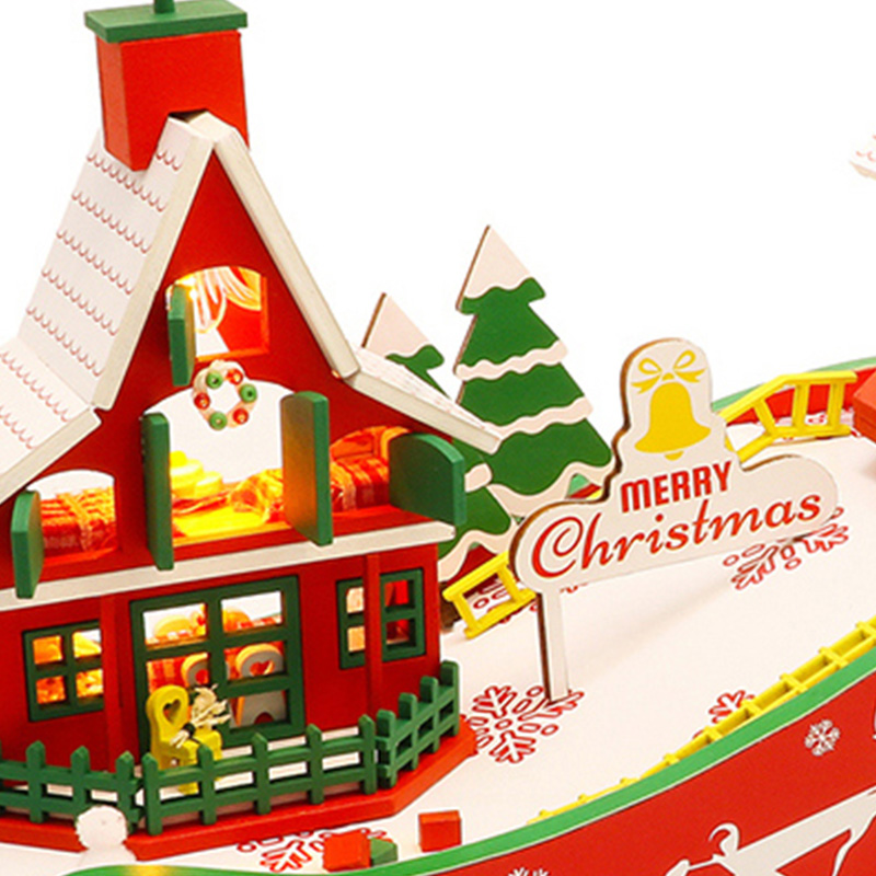 DIY-Puppen-Haus-HoeLzerne-Puppen-HaeUser-Miniatur-Puppen-Haus-MoeBel-Kit-mit-L-L7P7 Indexbild 5
