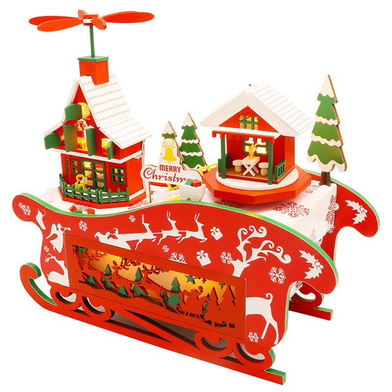 DIY-Puppen-Haus-HoeLzerne-Puppen-HaeUser-Miniatur-Puppen-Haus-MoeBel-Kit-mit-L-L7P7