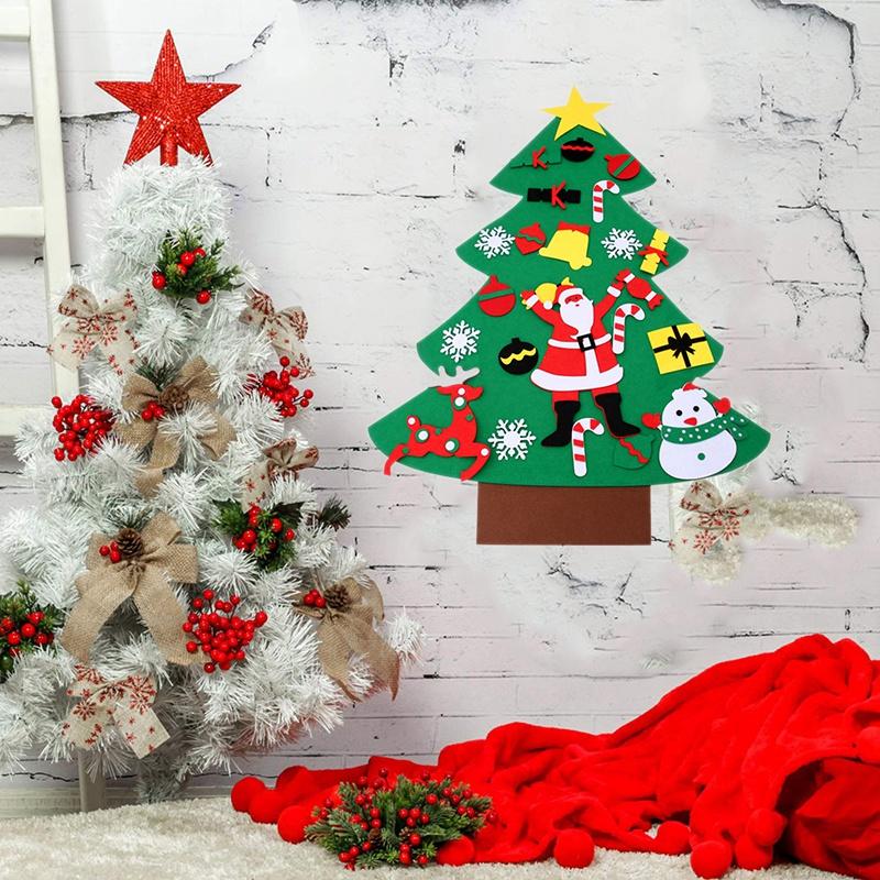 Albero Di Natale X Bambini.Albero Di Natale Albero Di Natale Diy 3d Feltro Bambini Bambini Caldi Decor H9y4 Ebay