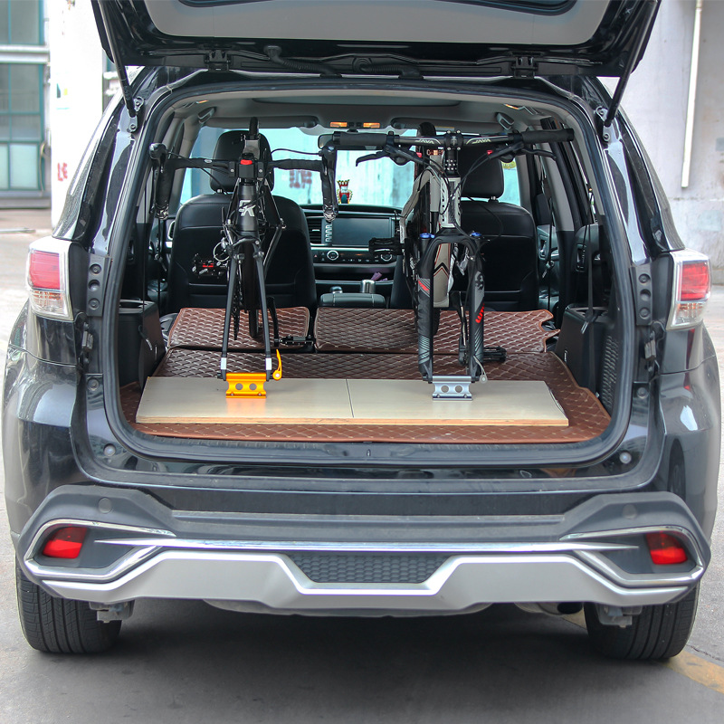 3X-Bike-Fork-Mount-Bicycle-Truck-Bed-Roof-Bike-Rack-Bike-Fork-Mount-Block-T-E9G9 thumbnail 19