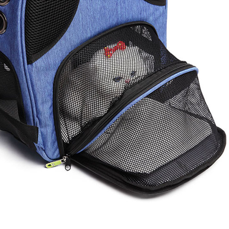 1X-Pet-Dog-Carrier-Backpack-Sac-Chiot-Chat-Chien-en-Plein-Air-RandonneE-Sac-F2Q4 miniature 8