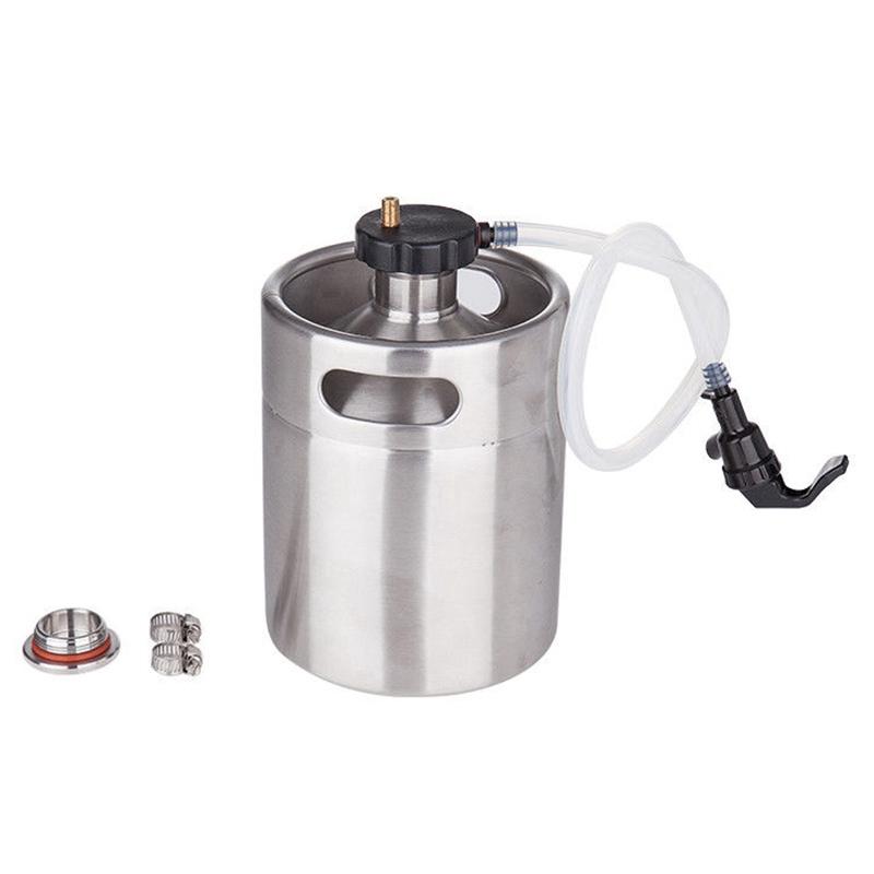Mini-Barrel-Dispenser-System-Wasserhahn-Hand-Gemachtes-Bier-Anwendbar-oder-I1T8 Indexbild 2