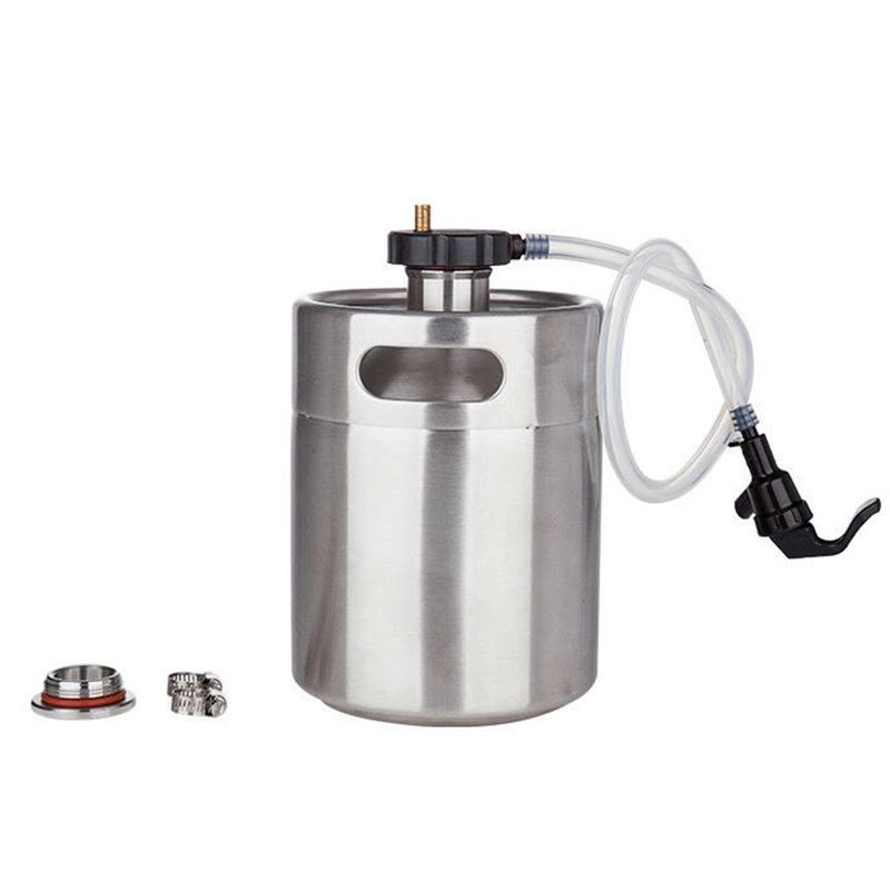 Mini-Barrel-Dispenser-System-Wasserhahn-Hand-Gemachtes-Bier-Anwendbar-oder-I1T8 Indexbild 3