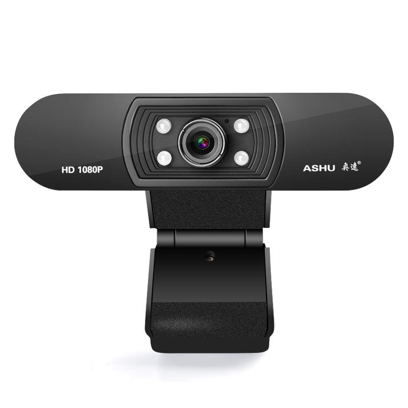 ASHU-CaMara-H800-HD-1080P-Video-Conferencia-Clip-Computadora-CaMara-MicroFo-F2E4