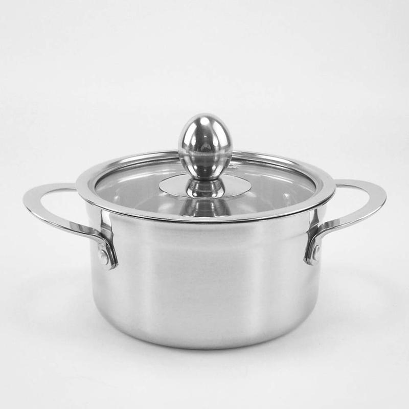 Edelstahl-Verdickter-Milchtopf-Suppenpfanne-KueChe-Kessel-Suppe-SuppentoePfe-Z9A3 Indexbild 6