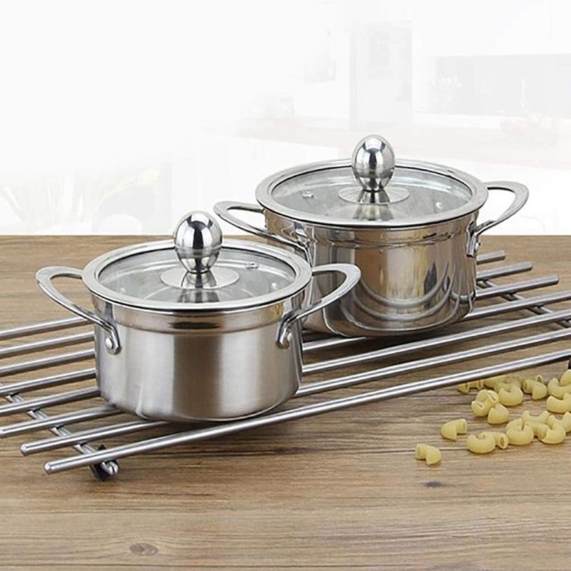 Edelstahl-Verdickter-Milchtopf-Suppenpfanne-KueChe-Kessel-Suppe-SuppentoePfe-Z9A3 Indexbild 7