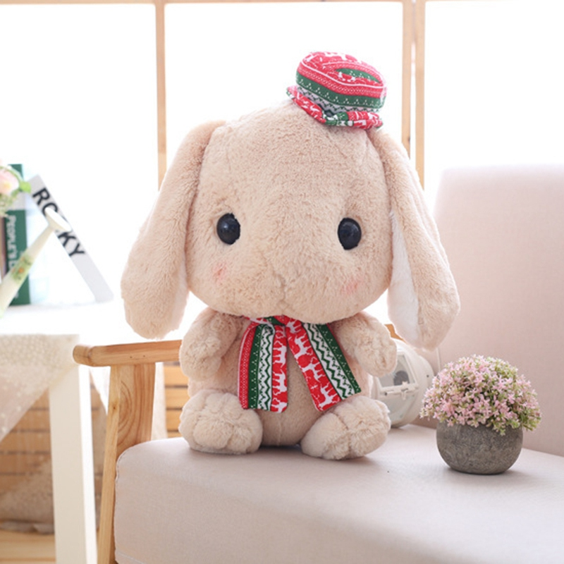 Long-Ear-Carrot-Rabbit-Plush-Toy-Bunny-Pillow-Plush-Doll-Grab-Doll-X9L2 thumbnail 6