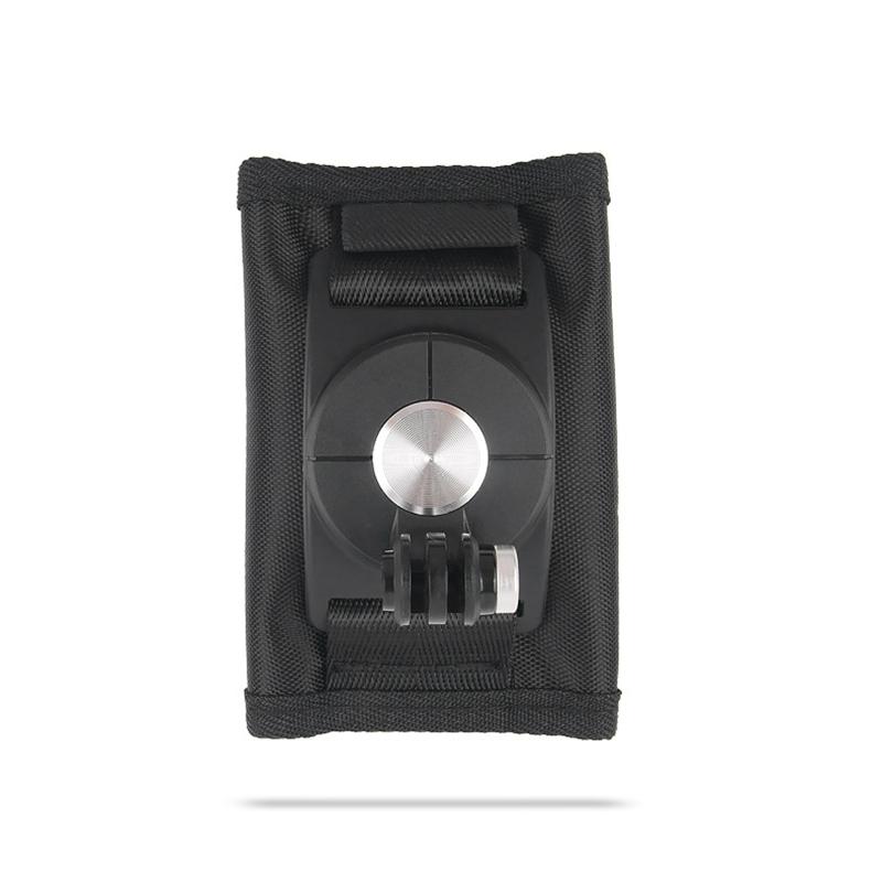 360 Winkel drehbar Schnellspanner Rucksack Hut Clip Klemme Halterung fuer GoPro