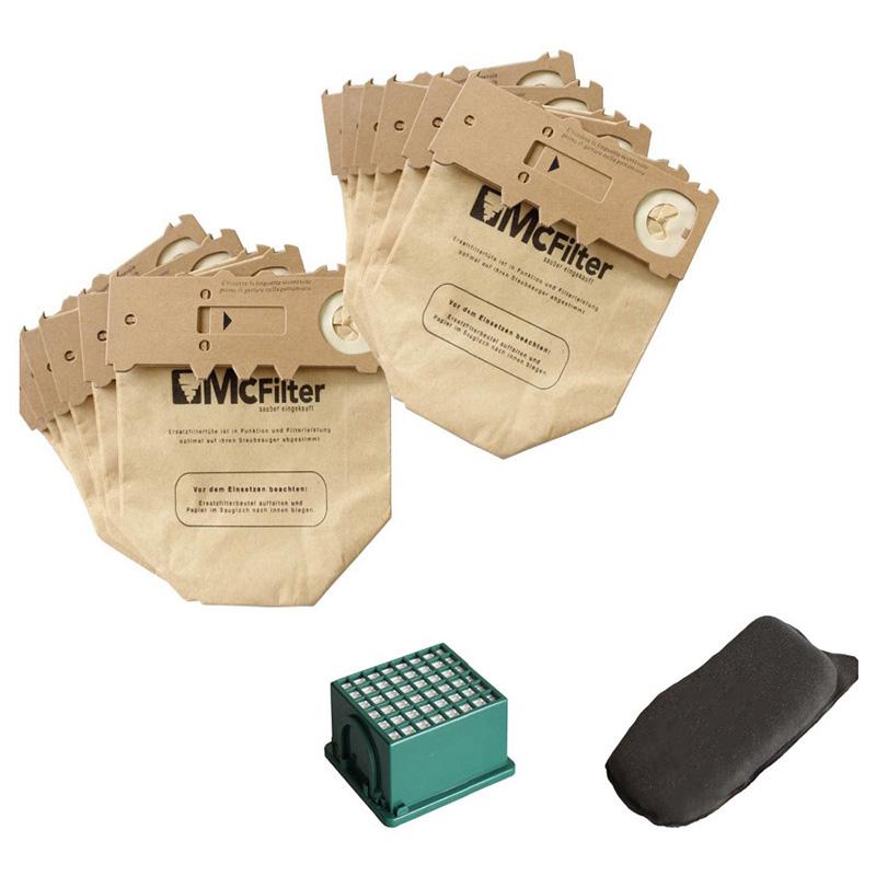 Staubbeutel Für Kobold VORWERK KOBOLD VK130 VK131 FP130 Kohlefilter Filter