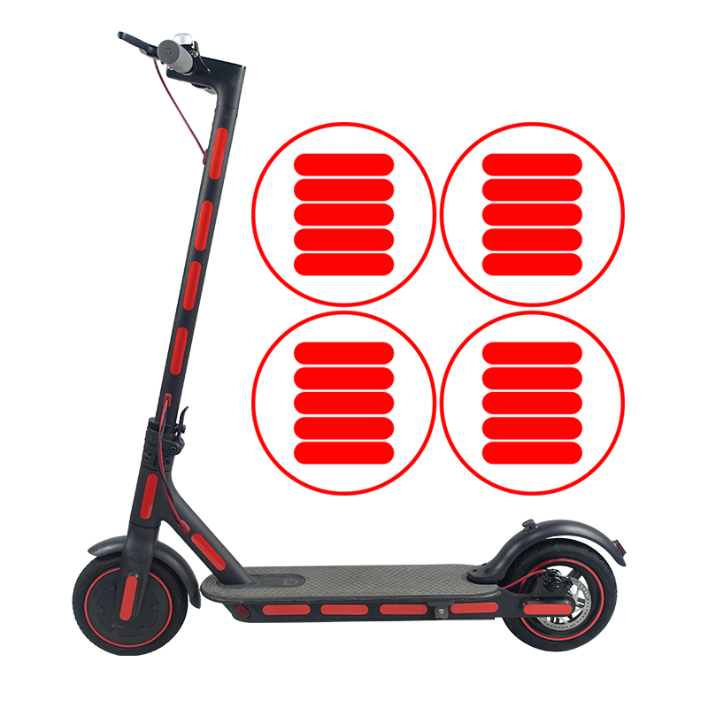 Protective-Reflective-Sticker-for-Xiaomi-Mijia-M365-Electric-Scooter-Skateb-U9L9 thumbnail 3