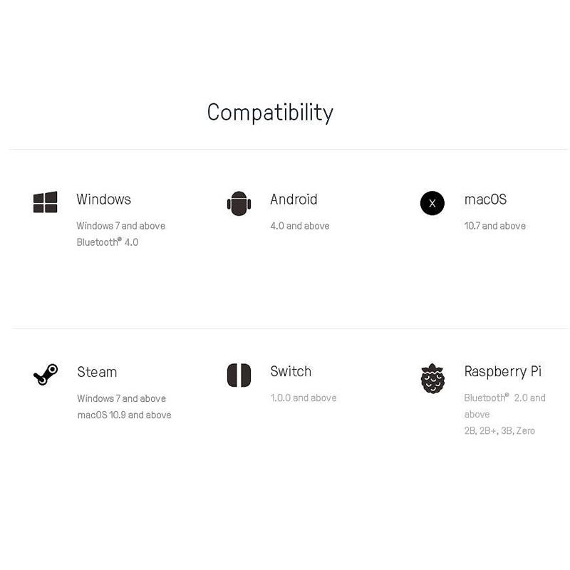 8Bitdo-Sn30-GP-Bluetooth-Gamepad-Controller-for-Nintendo-Switch-Windows-MacK5N5 thumbnail 7