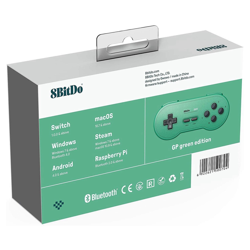 8Bitdo-Sn30-GP-Bluetooth-Gamepad-Controller-for-Nintendo-Switch-Windows-MacK5N5 thumbnail 9
