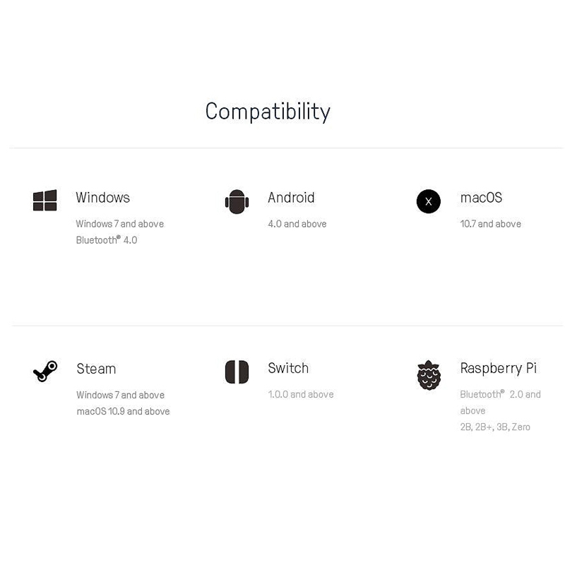 8Bitdo-Sn30-GP-Bluetooth-Gamepad-Controller-for-Nintendo-Switch-Windows-MacK5N5 thumbnail 15