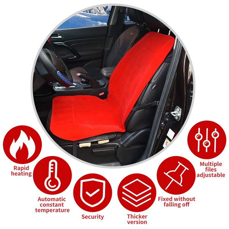 2Pcs-12V-Car-Seat-Heated-Cover-Heated-Seat-Cushion-with-Intelligent-Temper-W4H6 thumbnail 2