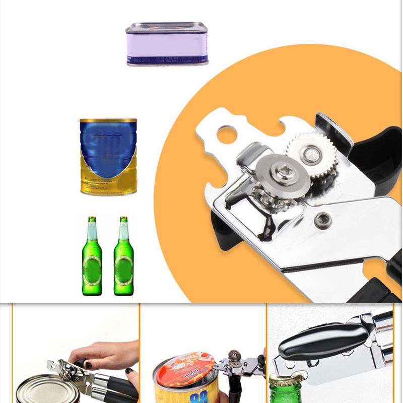 Hoch-Leistungs-Eisen-Dosen-oeFfner-Schneider-Komfort-Griff-Edelstahl-KueChen-I8V5 Indexbild 6