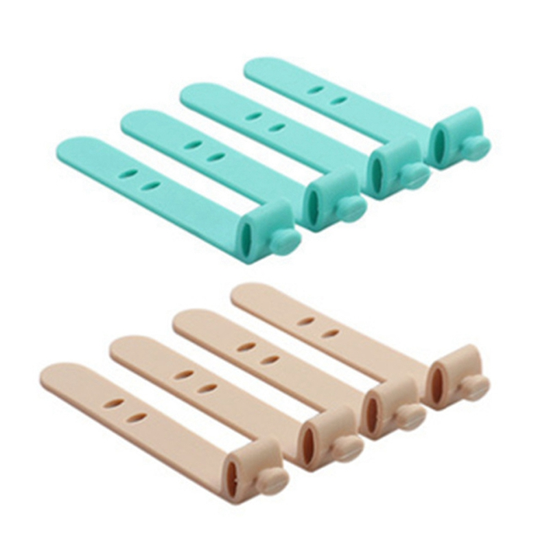 8Pcs Silicone Strap Earphone Storage Tape Power Line Data Ca