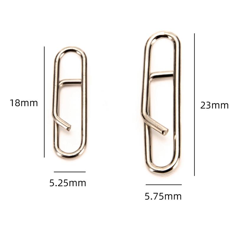 50-StueCke-Leistung-Starke-Schnelle-Verbindung-Clip-Snap-Schwenk-Stift-Angel-H5E6 Indexbild 7