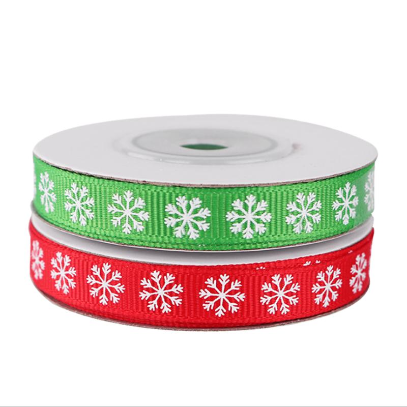 2-Rolls-Snowflake-Thread-Ribbon-3-8-Inch-10-Yards-Christmas-Ribbon-Gift-B-V2I1 thumbnail 5