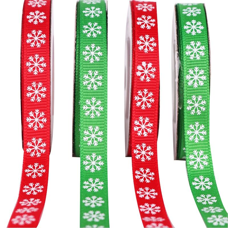 2-Rolls-Snowflake-Thread-Ribbon-3-8-Inch-10-Yards-Christmas-Ribbon-Gift-B-V2I1 thumbnail 6
