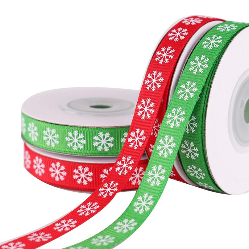 2-Rolls-Snowflake-Thread-Ribbon-3-8-Inch-10-Yards-Christmas-Ribbon-Gift-B-V2I1 thumbnail 8