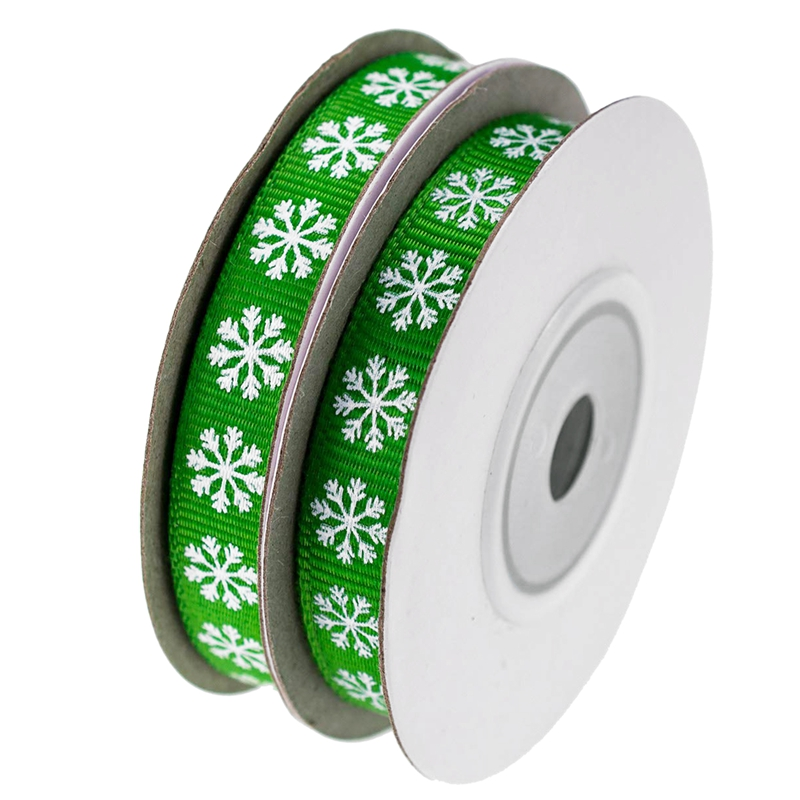 2-Rolls-Snowflake-Thread-Ribbon-3-8-Inch-10-Yards-Christmas-Ribbon-Gift-B-V2I1 thumbnail 10