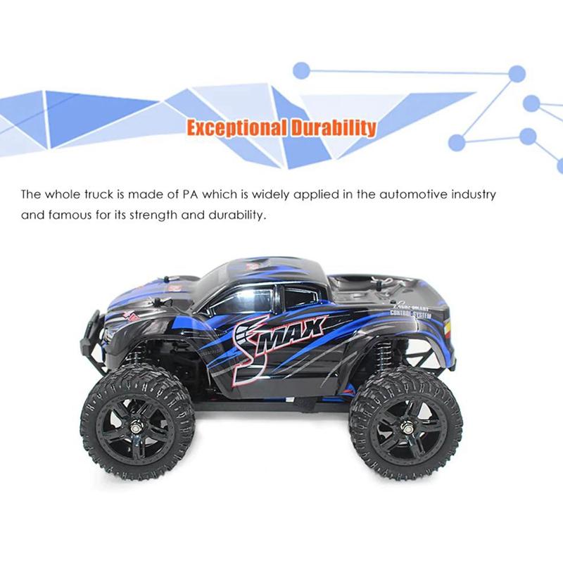 1631-1-16-2-4G-EleCtrico-4WD-Control-Remoto-CamioN-Juguetes-para-NinOs-Ench-R2I1 miniatura 16