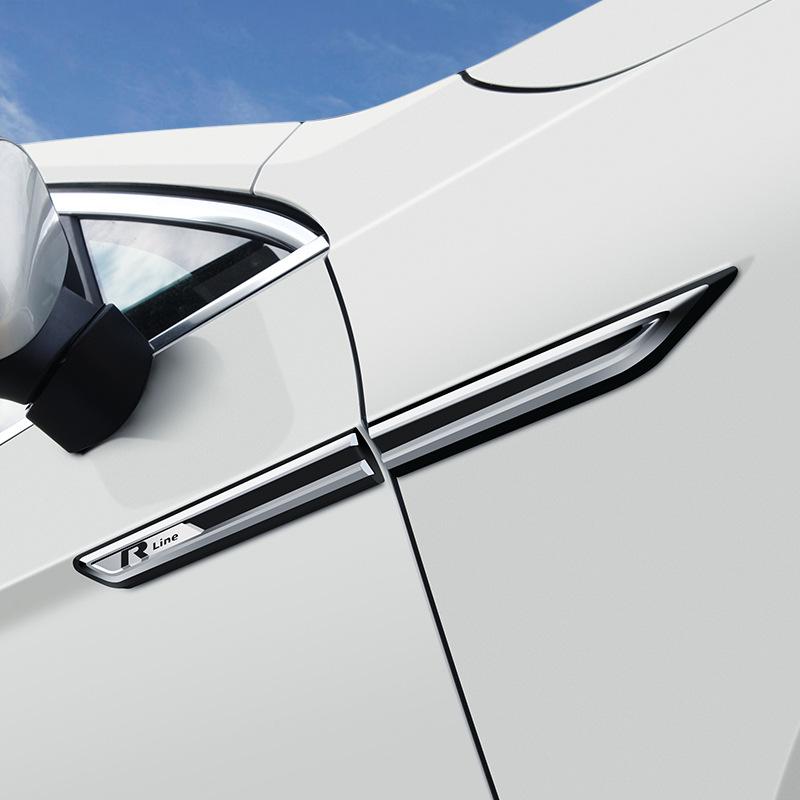 ACAMPTAR per Passat B8 Accessori per Accessori per Parafango per Auto per Parafango Autoadesivo Laterale Cromato