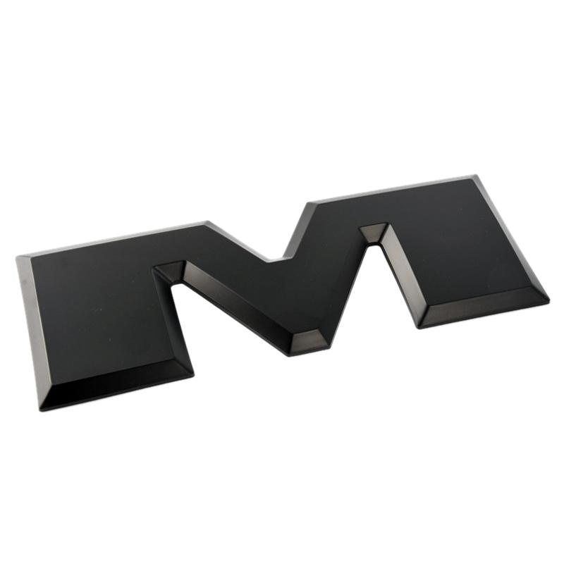 Un-Conjunto-de-Emblema-del-Logotipo-de-la-Letra-RAM-3D-del-PortoN-de-Coche-O4K4 miniatura 4