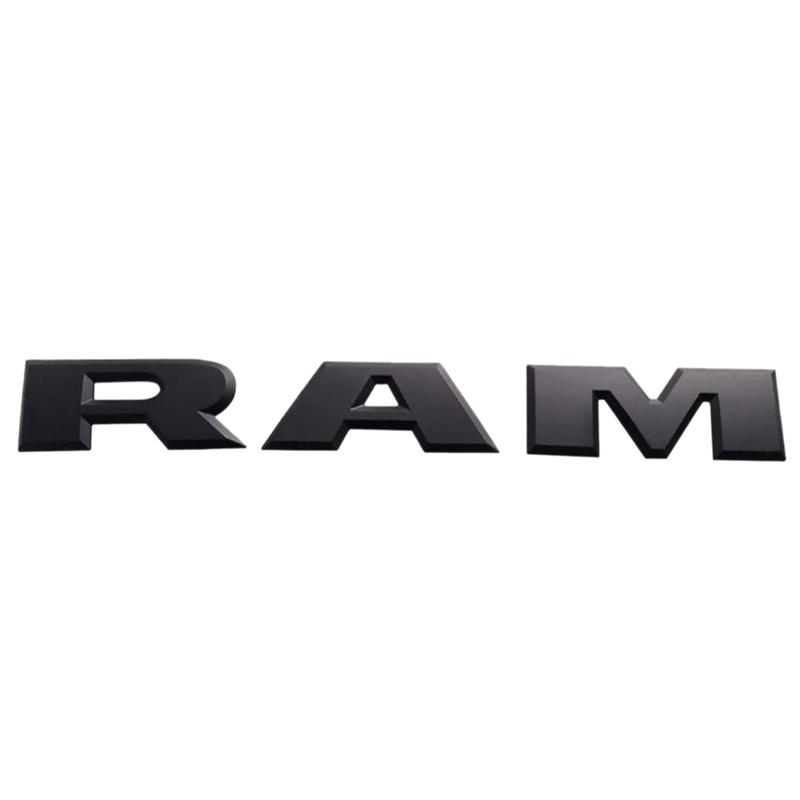 Un-Conjunto-de-Emblema-del-Logotipo-de-la-Letra-RAM-3D-del-PortoN-de-Coche-O4K4 miniatura 11