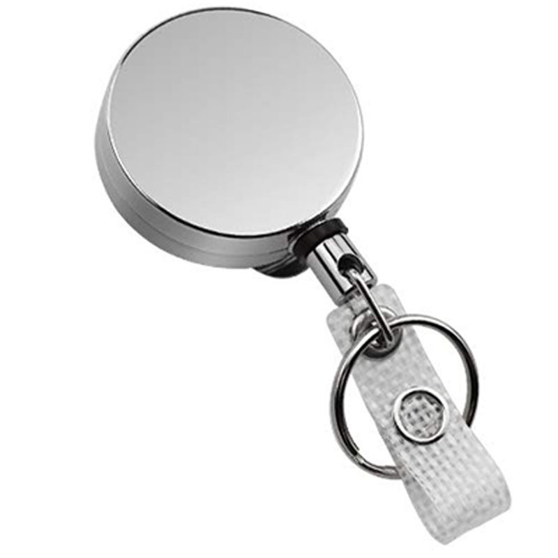 5X-4-Pack-Badge-Holder-Reel-Clip-Retractable-ID-Badge-Holder-with-Belt-Cli-A1J5 thumbnail 3