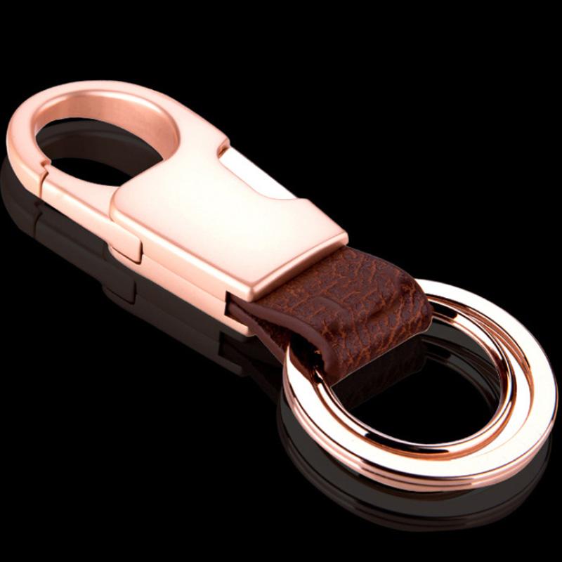 5X-Leather-Key-Chain-Men-and-Women-Durable-Car-Key-Ring-Stainless-Steel-Ke-M2M4 thumbnail 17