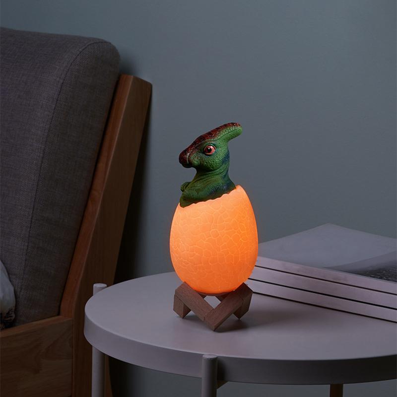 Dinosaurier-Spielzeug-Ei-Lampe-Lichter-16-Farben-Dinosaurier-Nachtlicht-Nach-iko Indexbild 12