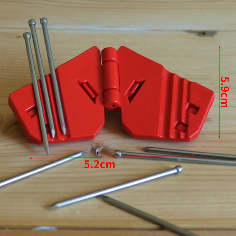 2Pcs Mini Hand Guard for Finish Nails Small Screws and Staples Roofing Nail Q2U2