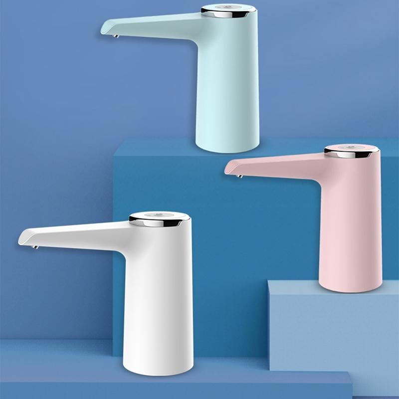Automatischer-Elektrischer-Tragbarer-Wasserpumpenspender-Gallonen-Trinkflas-B4Z7 Indexbild 3