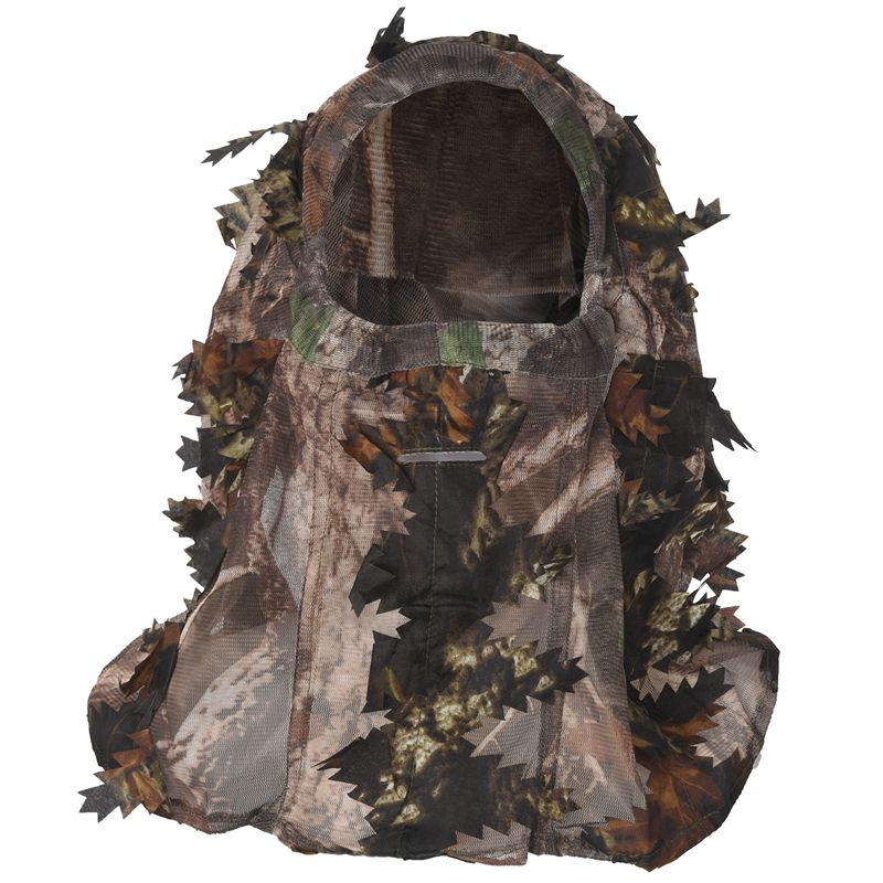 Camouflage Face Mask 3D Leaf Stereo Turkey Hunting Mask Hat Camo Face Mask D8L8