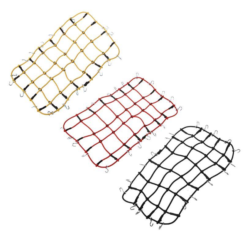 Nylon-Rope-GepaeCktraeGer-Net-fuer-1-10-RC-Crawler-Auto-TRX4-Defender-Bronco-R-D8O4 Indexbild 12