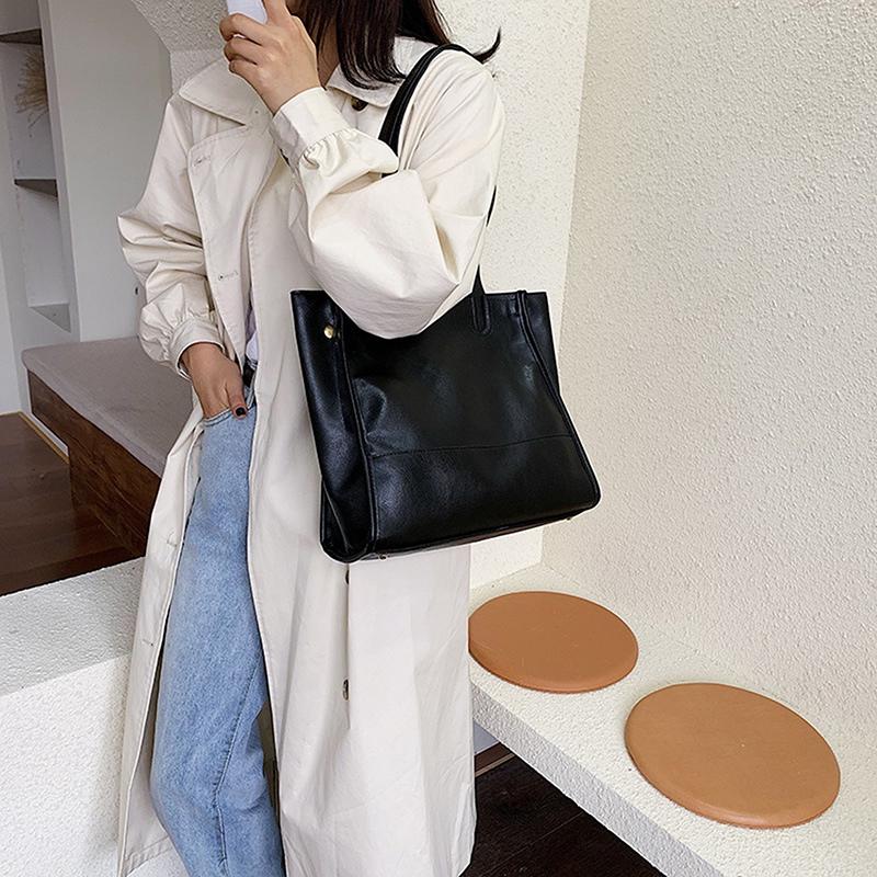 Damentasche-Retro-UmhaeNgetasche-Simple-Fashion-Aktentasche-Tote-Bag-S6K5 Indexbild 6