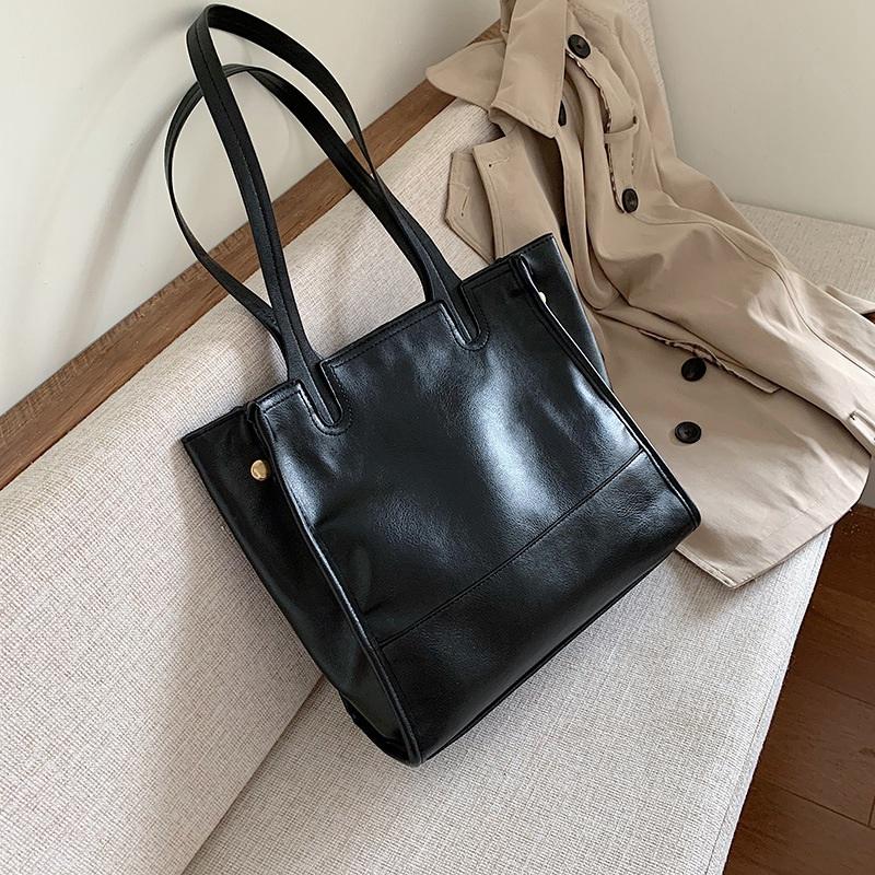 Damentasche-Retro-UmhaeNgetasche-Simple-Fashion-Aktentasche-Tote-Bag-S6K5 Indexbild 7