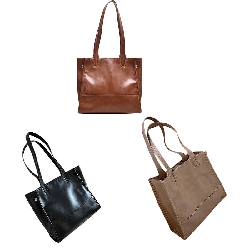 Damentasche-Retro-UmhaeNgetasche-Simple-Fashion-Aktentasche-Tote-Bag-S6K5 Indexbild 16