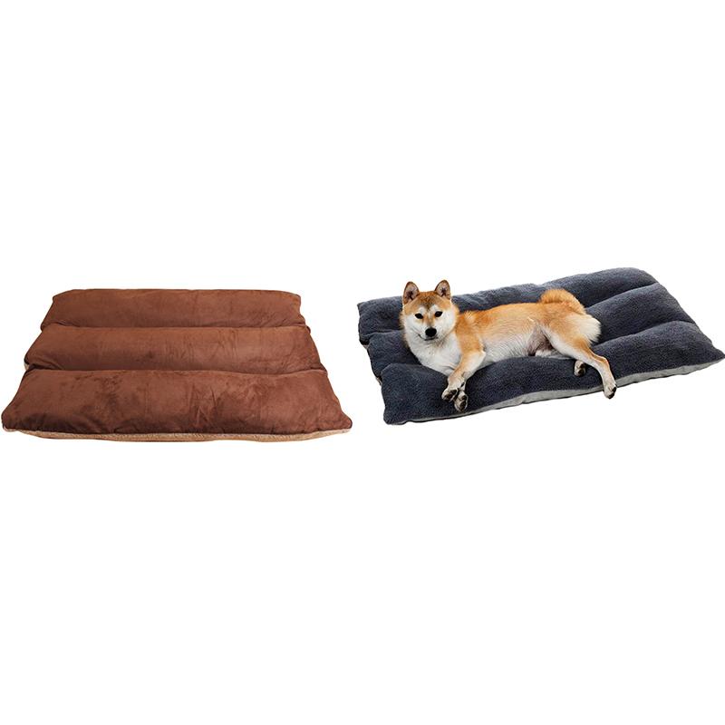 GrossEs-Hundebett-Warm-Pet-Puppy-House-Kissen-Soft-Kennel-Nest-Sofa-Mat-Blan-H9H8 Indexbild 5