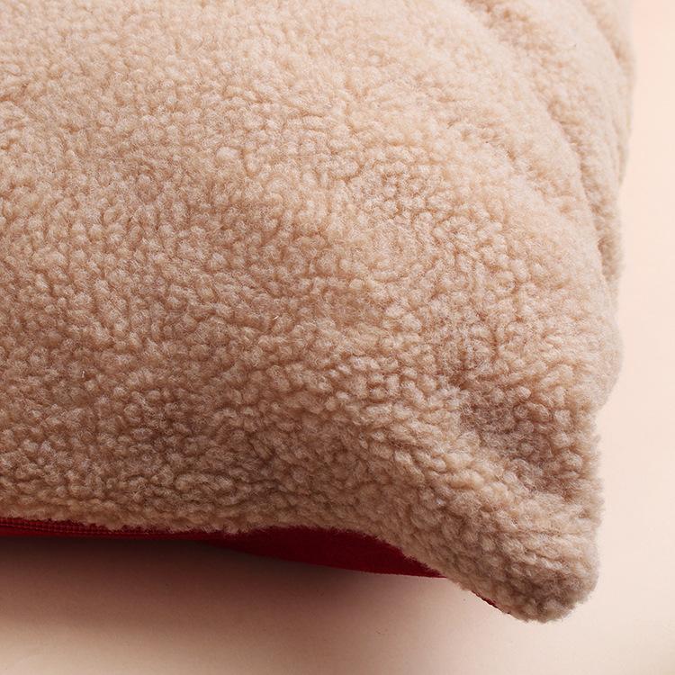 GrossEs-Hundebett-Warm-Pet-Puppy-House-Kissen-Soft-Kennel-Nest-Sofa-Mat-Blan-H9H8 Indexbild 6