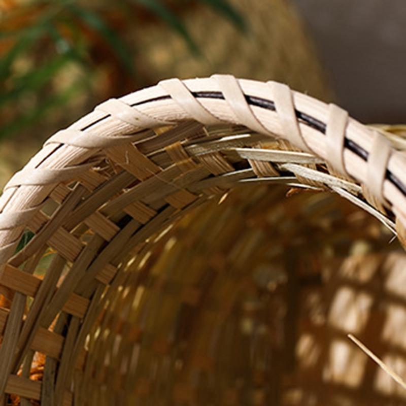 Kreative-Hand-Gemachte-NatueRliche-Bambus-Weben-Ablage-Korb-Container-fuer-Sn-W1M5 Indexbild 4