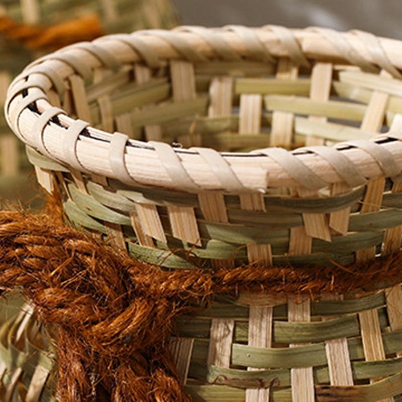 Kreative-Hand-Gemachte-NatueRliche-Bambus-Weben-Ablage-Korb-Container-fuer-Sn-W1M5 Indexbild 6